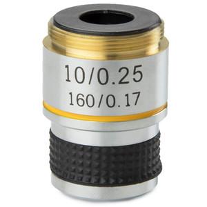 Euromex Obiettivo 10x/0,25 acromatico, parafocale 35 mm, MB.7010  (MicroBlue)