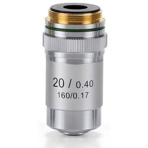 Euromex Obiettivo 20x/0,40 acromatico, DIN, EC.7020 (EcoBlue)