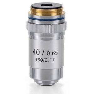 Euromex Obiettivo 40x/0,65 acromatico, DIN, a molla, EC.7040 (EcoBlue)