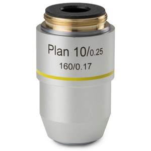 Euromex Obiettivo 10x/0,25 plan, DIN, BB.8810 (BioBlue.lab)