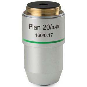 Euromex Obiettivo 20x/0,40 plan, DIN, BB.8820 (BioBlue.lab)