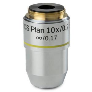 Euromex Obiettivo 10x/0,25 plan, corretto all'infinito, BB.7210 (BioBlue.lab)