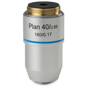 Euromex Obiettivo 40x/0,65 plan, a molla, corretto all'infinito, BB.7240 (BioBlue.lab)
