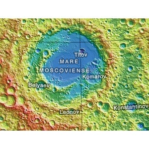 Sky Publishing Globus Mond topographisch 30cm