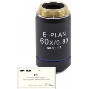 Objectif Optika 60x/0.80, infinity, plan, POL,  (B-383POL), M-149P