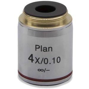 Optika Obiettivo 4x/0.10, W-plan, infinity, (B-383MET) M-337