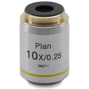Objectif Optika 10x/0.25, W-plan, infinity, (B-383MET), M-338