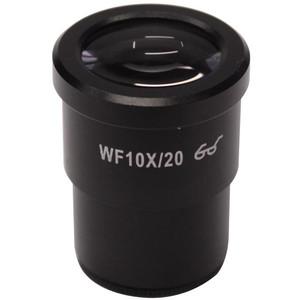 Optika Oculaire micrométrique, WF10x / 20 mm, 10 mm / 100 um, ST-405