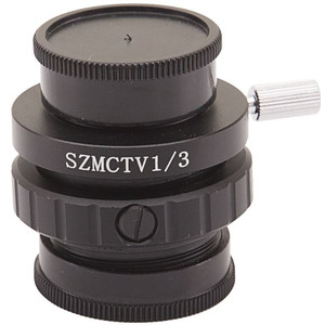 "Optika Adattore Fotocamera C-Mount adattatore ST-418, per sensore 1/3"", 0,35x, messa a fuoco regolabile (LAB 30)"