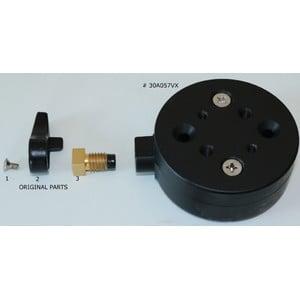 Geoptik Prism clamp to Celestron AVX mount adapter