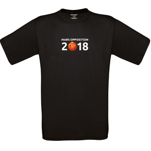 T-Shirt Mars Opposition 2018 - Size XL black