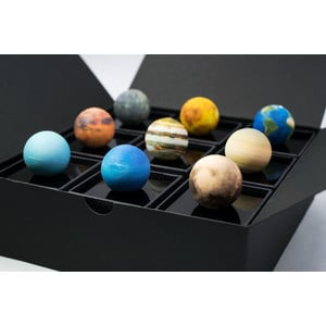 AstroReality Reliefglobus Solar System Mini Set