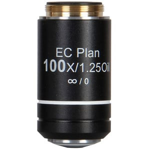Motic Obiettivo EC PL CCIS, plan, achro, NGC 100x/1.25, S, Oil w.d. 0.15mm (BA-310 Elite)