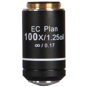 Motic Objective EC PL, CCIS, plan, achro, 100x/1.2, S, Oil w.d. 0.15mm (BA-210)