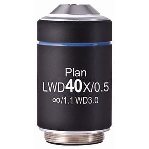 Motic Obiettivo LWD PL, CCIS, plan, achro, 40x/0.5, w.d.3.0mm (AE2000)