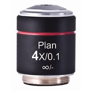 Motic Obiettivo PL, CCIS, plan, acromatico, 4x/0,10 w.d. 12,6 mm (AE2000)
