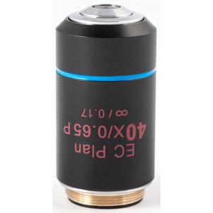 Motic Obiettivo EC PL P, CCIS, plan, achro, (spannungsfrei) 40x/0.65, S, w.d. 0.5mm (BA-310 POL)