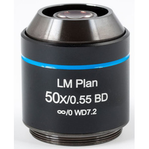 Motic Objective LM BD PL, CCIS, LM, plan, achro, BD, 50x/0.55, w.d.7.2mm (AE2000 MET)