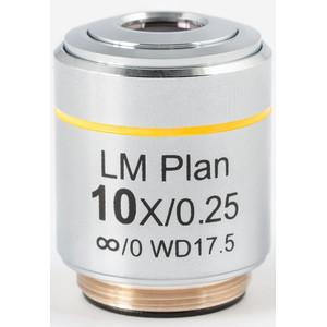 Motic Obiettivo LM PL, CCIS, LM, plan, achro, 10X/0.3, w.d.17.5mm (AE2000 MET)
