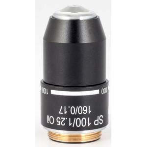 Motic Obiettivo SP semiplan achro, 100X/1.25, S, Oil  w.d=0.14mm (RedLine200)