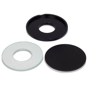Motic Grande platine gemmologie, avec une plaque blanc / noir et un insert en verre (SMZ-171)
