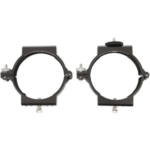 Omegon Abrazaderas 100mm tube clamps for 102/660 telescope