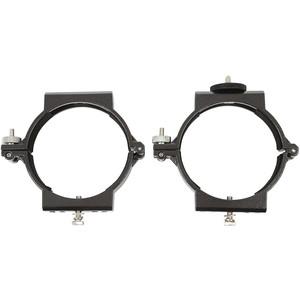 Omegon Abrazaderas de tubo de 100 mm para el telescopio 102/660