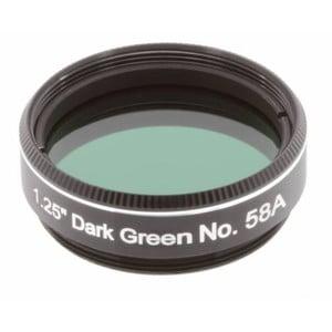 """Explore Scientific filtro verde scuro #58A 1,25"""""""
