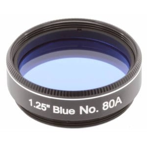 Explore Scientific Filtre bleu #80A 1,25""