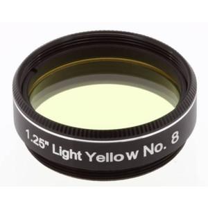 """Explore Scientific filtro giallo chiaro #8 1,25"""""""