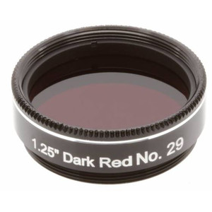 """Explore Scientific filtro rosso chiaro #29 1,25"""""""