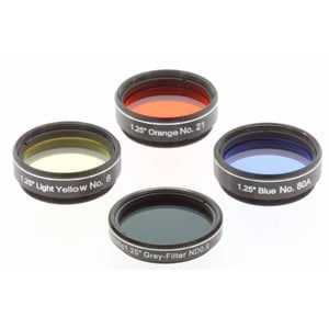 """Explore Scientific Filters Filter Set Moon & Planets from 50mm Telescopes, 1,25"""""""