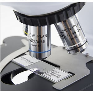 Optika Microscopio Mikroskop B-510-2IVD, trino, 2-head, W-PLAN IOS, 40x-1000x, IVD
