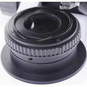 Optika Microscopio B-510-5, discussion, trino, 5-head, IOS W-PLAN, 40x-1000x, EU