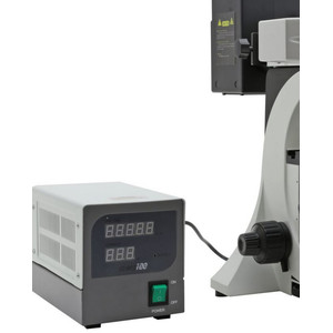 Optika Microscopio Mikroskop B-510FL-US, trino, FL-HBO, B&G Filter, W-PLAN, IOS, 40x-400x, US