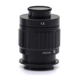 Optika Adaptador para montura C M-620.3, enfocable 1x (microscopios biológicos, SZ)