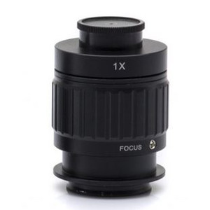 Optika Adattore Fotocamera M-620.3 adattatore C-Mount, 1x, messa a fuoco regolabile (microscopi biologici, SZ)