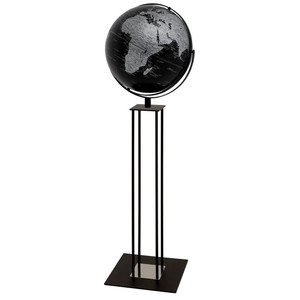 emform Globo da terra Worldtrophy Matt Black 42,5cm