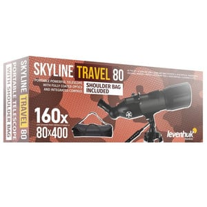 Levenhuk Teleskop AC 80/400 Skyline Travel AZ