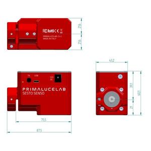 PrimaLuceLab SESTO SENSO robotic focusing motor