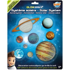 Buki Glow Space - sistema solare