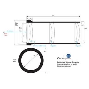 Orion Optics UK Telescopio N 400/1520 AG16 Carbon Astrograph OTA