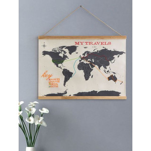 Mappemonde suck UK Carte du monde point de croix