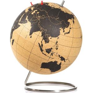Map Of Uk On Globe.Suck Uk Cork Globe 25cm For Pinning