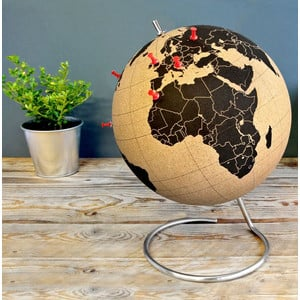 suck UK Cork globe 25cm for pinning