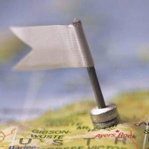Miniatur-Fähnchen mit magnetischem Fuß, 10 Stück