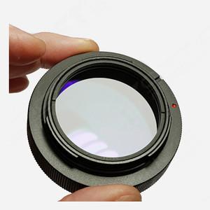 ASToptics EOS T-Ring M48 con filtro trasparente integrato