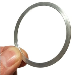 """ASToptics Prolunga M48 (2"""") anello regolazione fine - 2 mm (alluminio)"""