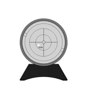 ASToptics Cercasole CERCATORE SOLARE UNIVERSALE (PER SUPPORTO CERCATORE)