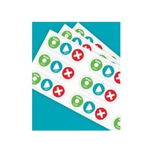 Tessloff-Verlag BOOKii Sticker 1-120